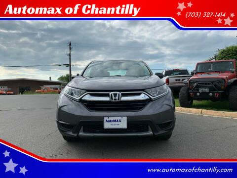 2018 Honda CR-V for sale at Automax of Chantilly in Chantilly VA