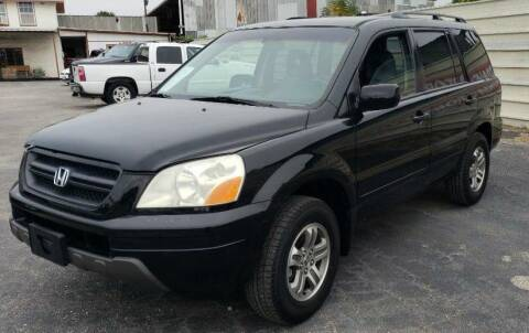 2003 Honda Pilot for sale at Jackson Motors Used Cars in San Antonio TX
