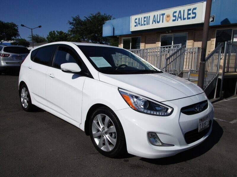 2014 Hyundai Accent for sale at Salem Auto Sales in Sacramento CA
