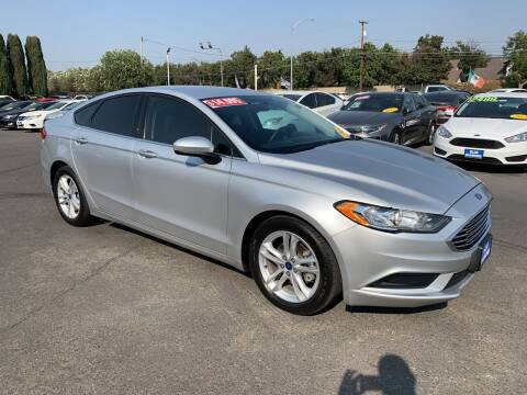 2018 Ford Fusion for sale at Blue Diamond Auto Sales in Ceres CA
