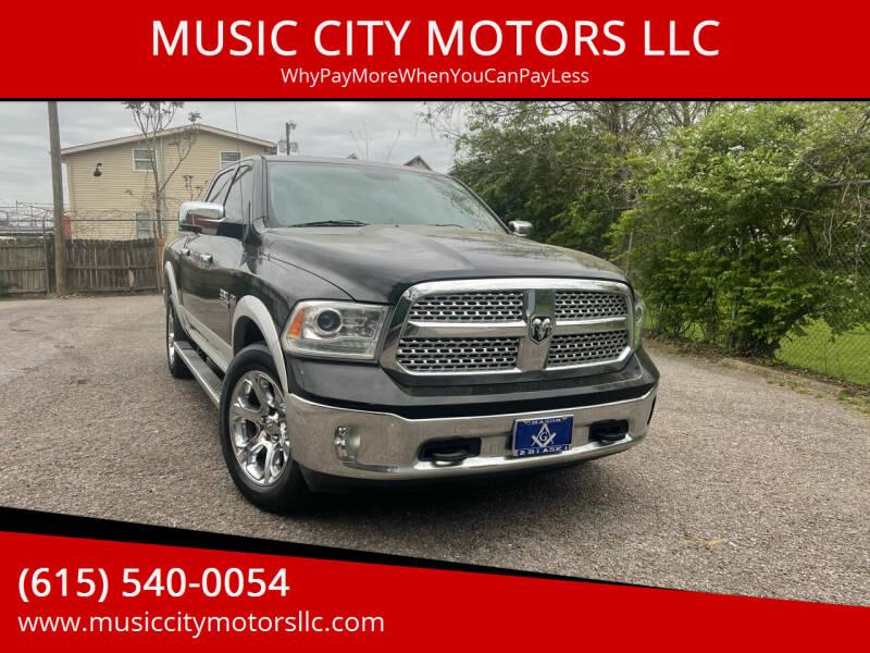 2013 RAM Ram Pickup 1500 for sale at MUSIC CITY MOTORS LLC in Nashville TN