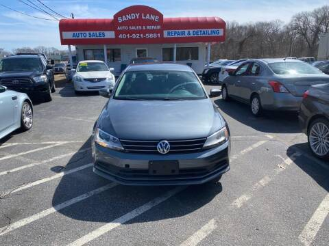 2015 Volkswagen Jetta for sale at Sandy Lane Auto Sales and Repair in Warwick RI