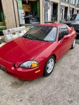 1993 Honda Civic del Sol for sale at Classic Car Deals in Cadillac MI