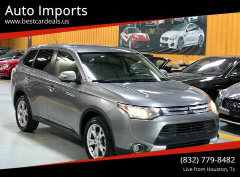 2015 Mitsubishi Outlander for sale at Auto Imports in Houston TX