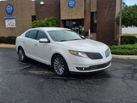 2014 Lincoln MKS for sale at Mighty Motors in Adrian MI