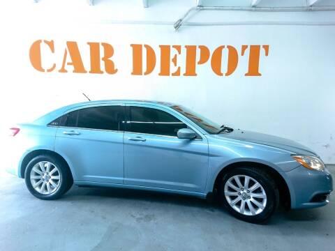 2013 Chrysler 200 for sale at Car Depot in Miramar FL