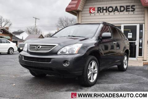 2008 Lexus RX 400h for sale at Rhoades Automotive in Columbia City IN