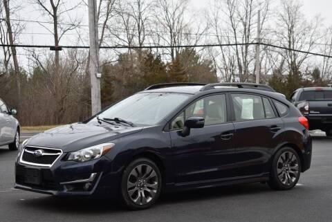 2015 Subaru Impreza for sale at GREENPORT AUTO in Hudson NY
