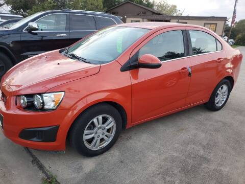 2013 Chevrolet Sonic for sale at Kachar's Used Cars Inc in Monroe MI
