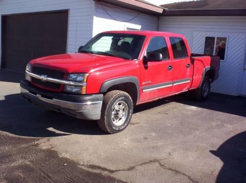 2003 Chevrolet Silverado 1500HD for sale at LAKESIDE MOTORS LLC in Houghton Lake MI