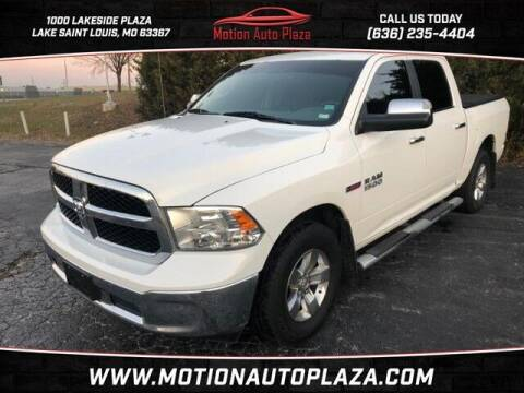 2016 RAM Ram Pickup 1500 for sale at Motion Auto Plaza in Lakeside MO