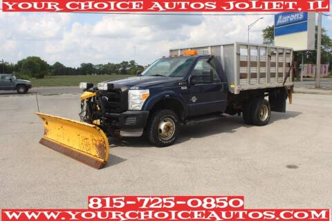 2011 Ford F-350 Super Duty for sale at Your Choice Autos - Joliet in Joliet IL