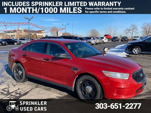 2014 Ford Taurus for sale at Sprinkler Used Cars in Longmont CO