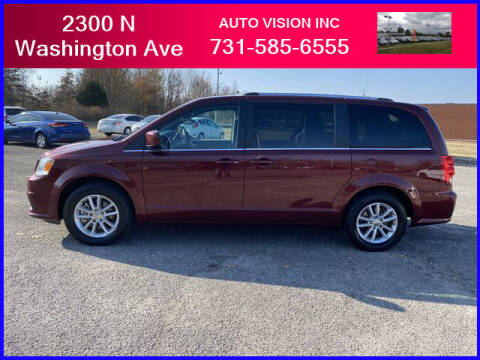 2018 Dodge Grand Caravan for sale at Auto Vision Inc. in Brownsville TN