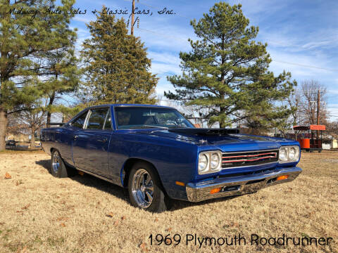 1969 Plymouth Roadrunner for sale at MIDWAY AUTO SALES & CLASSIC CARS INC in Fort Smith AR
