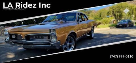 1967 Pontiac GTO for sale at LA Ridez Inc in North Hollywood CA