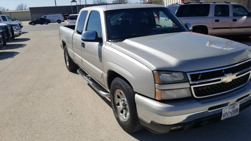 2007 Chevrolet Silverado 1500 Classic for sale at Key City Motors in Abilene TX