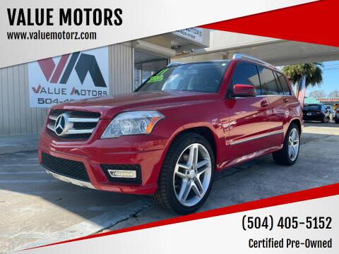 2011 Mercedes-Benz GLK for sale at VALUE MOTORS in Kenner LA