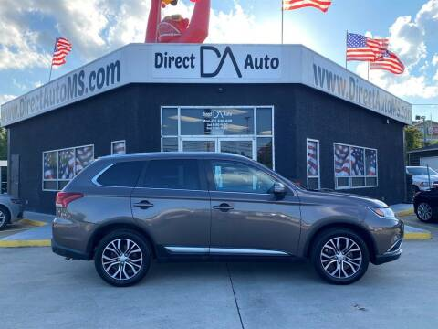 2018 Mitsubishi Outlander for sale at Direct Auto in D'Iberville MS