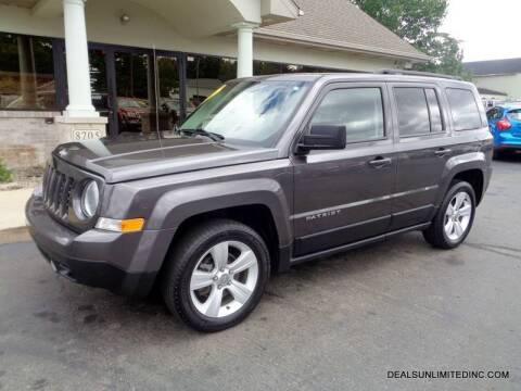 2015 Jeep Patriot for sale at DEALS UNLIMITED INC in Portage MI
