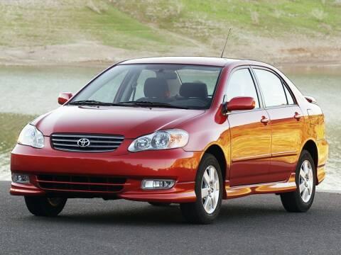 2004 Toyota Corolla for sale at Sundance Chevrolet in Grand Ledge MI