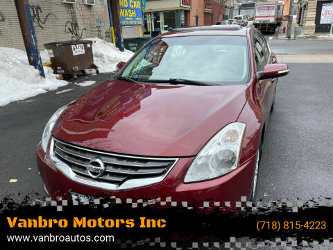 2011 Nissan Altima for sale at Vanbro Motors Inc in Staten Island NY