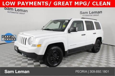 2017 Jeep Patriot for sale at Sam Leman Chrysler Jeep Dodge of Peoria in Peoria IL