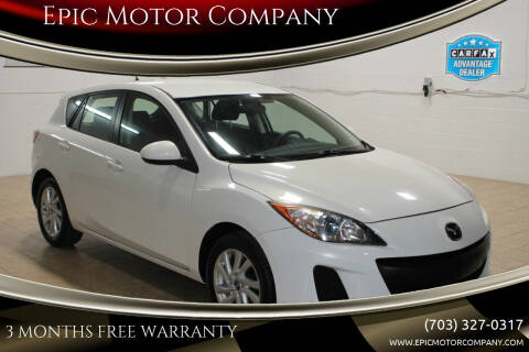 2013 Mazda MAZDA3 for sale at Epic Motor Company in Chantilly VA