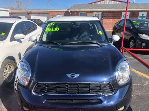 2012 MINI Cooper Countryman for sale at Moore Imports Auto in Moore OK
