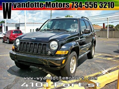 2007 Jeep Liberty for sale at Wyandotte Motors in Wyandotte MI