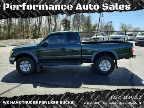 2003 Toyota Tacoma for sale at Performance Auto Sales in Hickory NC