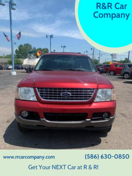 2004 Ford Explorer for sale at R&R Car Company in Mount Clemens MI