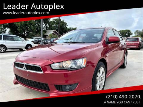 2010 Mitsubishi Lancer Sportback for sale at Leader Autoplex in San Antonio TX
