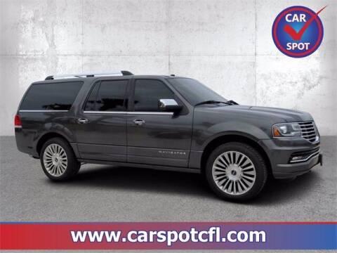 2016 Lincoln Navigator L for sale at Car Spot Of Central Florida in Melbourne FL