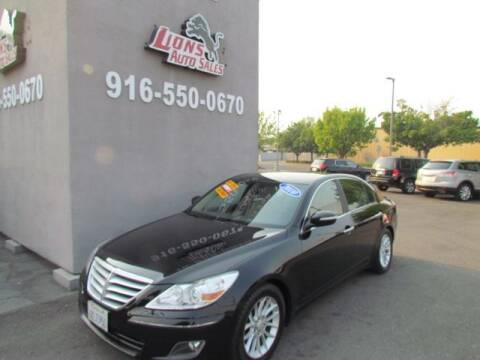 2009 Hyundai Genesis for sale at LIONS AUTO SALES in Sacramento CA