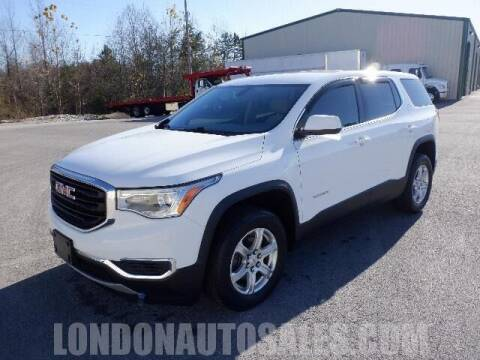 2018 GMC Acadia for sale at London Auto Sales LLC in London KY