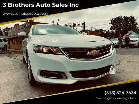 2020 Chevrolet Impala for sale at 3 Brothers Auto Sales Inc in Detroit MI