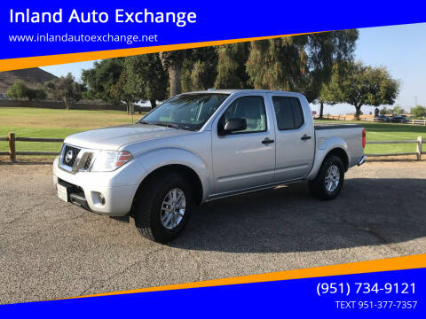 2016 Nissan Frontier for sale at Inland Auto Exchange in Norco CA