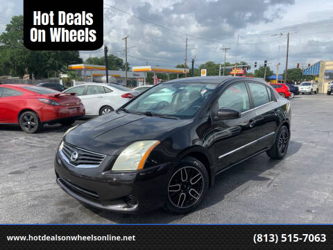 2010 Nissan Sentra for sale at Hot Deals On Wheels in Tampa FL