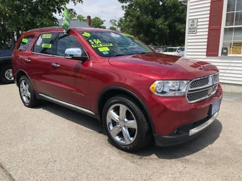 2013 Dodge Durango for sale at Crown Auto Sales in Abington MA