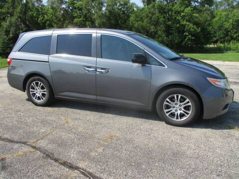 2013 Honda Odyssey for sale at Crossroads Used Cars Inc. in Tremont IL