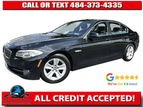 2013 BMW 5 Series for sale at World Class Auto Exchange in Lansdowne PA