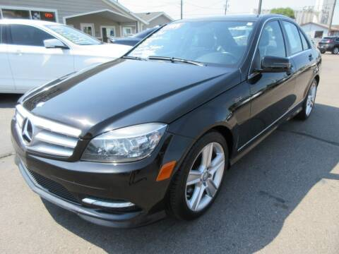 2011 Mercedes-Benz C-Class for sale at Dam Auto Sales in Sioux City IA