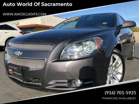 2010 Chevrolet Malibu for sale at Auto World of Sacramento Stockton Blvd in Sacramento CA