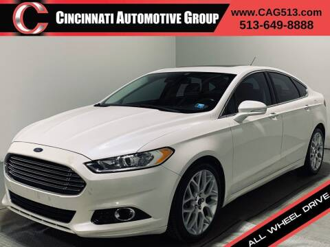 2013 Ford Fusion for sale at Cincinnati Automotive Group in Lebanon OH