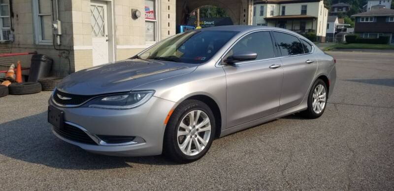 2015 Chrysler 200 for sale at Steel River Auto in Bridgeport OH