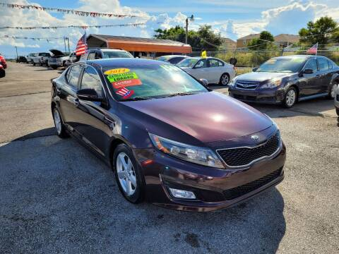 2014 Kia Optima for sale at GP Auto Connection Group in Haines City FL