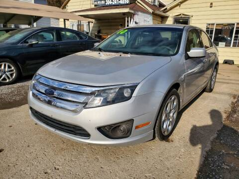 2010 Ford Fusion for sale at Auto Town Used Cars in Morgantown WV