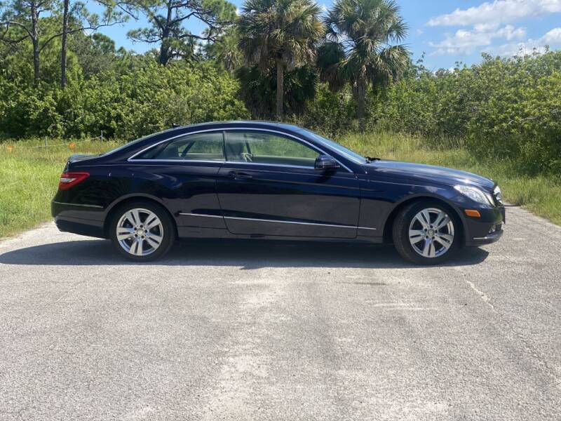 2011 Mercedes-Benz E-Class for sale at D & D Used Cars in New Port Richey FL