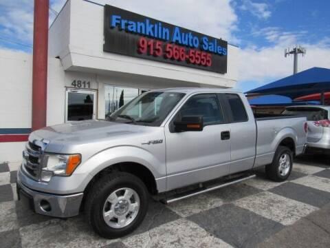 2013 Ford F-150 for sale at Franklin Auto Sales in El Paso TX